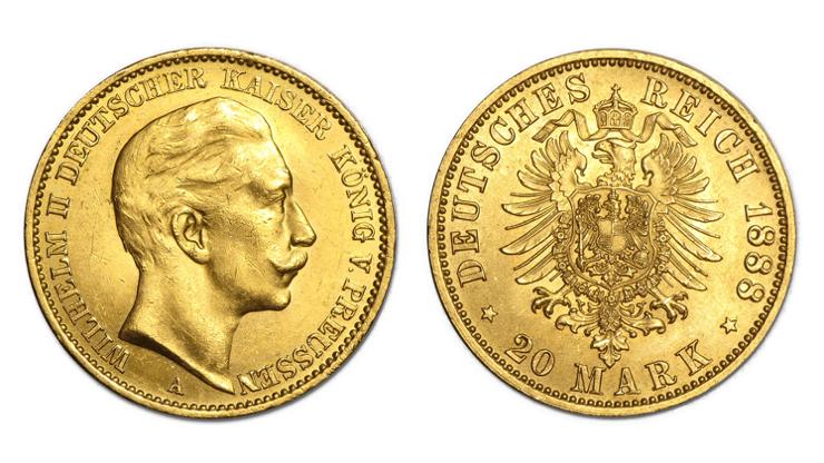 20 marchi oro