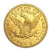 10 dollari liberty 1866-1907 Rovescio comprare e vendere oro fisico da investimento