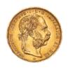 Marengo Austria 20 FR : 8 Fiorini Dritto comprare e vendere oro fisico da investimento