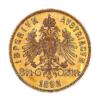 Marengo Austria 20 FR : 8 Fiorini Rovescio comprare e vendere oro fisico da investimento