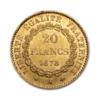 Marengo Francese 20 FR. (Angelo) Rovescio comprare e vendere oro fisico da investimento