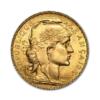 Marengo Francese 20 FR. (Rooster) Dritto comprare e vendere oro fisico da investimento