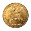 Marengo Francese 20 FR. (Rooster) Rovescio comprare e vendere oro fisico da investimento