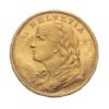 Marengo Svizzero 20 Franchi Dritto comprare e vendere oro fisico da investimento.png