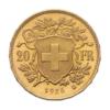 Marengo Svizzero 20 Franchi rovescio comprare e vendere oro fisico da investimento