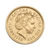 Sterlina nuovo conio Elisabetta corona post 2000 fronte comprare e vendere oro fisico da investimento