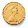 Sterlina nuovo conio Elisabetta coroncina 1974 fronte comprare e vendere oro fisico da investimento