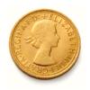 Sterlina nuovo conio Elisabetta fiocchetto 1957-1968 fronte comprare e vendere oro fisico da investimento