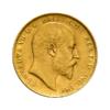 Sterlina vecchio conio Edoardo VII 1902-1910 fronte comprare e vendere oro fisico da investimento