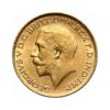 Sterlina vecchio conio Giorgio V 1911-1932 fronte comprare e vendere oro fisico da investimento